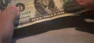 Find the mushroom on the dollar bill
