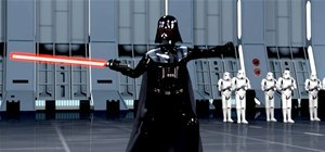 Darth Vader Does Tai Chi