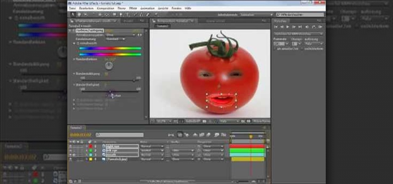 How To Create An Quot Annoying Orange Quot In Adobe After Effects