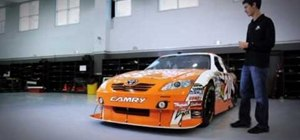 Paint an awesome race car