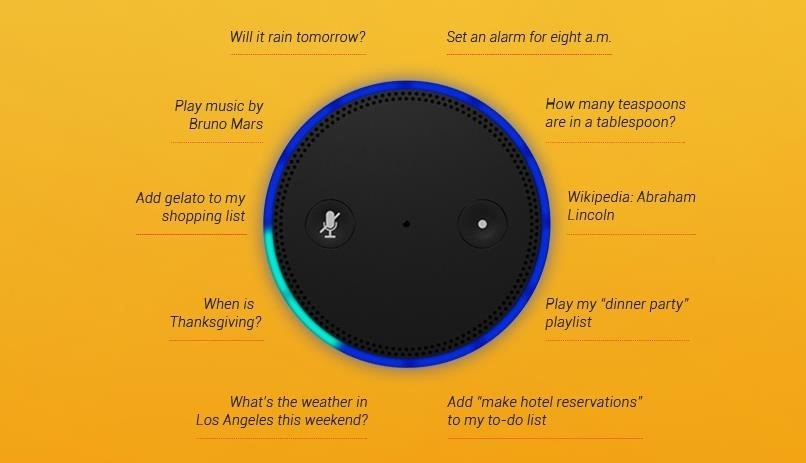 Amazon Echo Is Google for Your Living Room