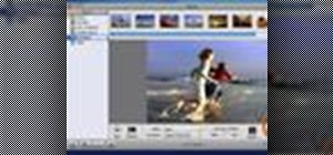Create a slideshow using iPhoto