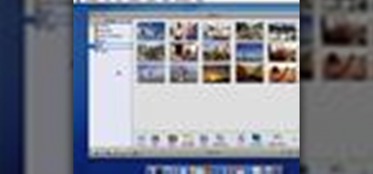 How to make a album in iphoto