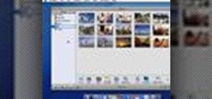 Create a photo album in iPhoto