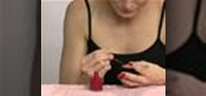Do a mini-manicure at home