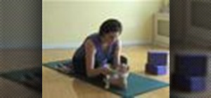 Do the head to knee yoga pose while pregnant