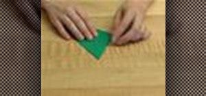 Origami a nice dinosaur