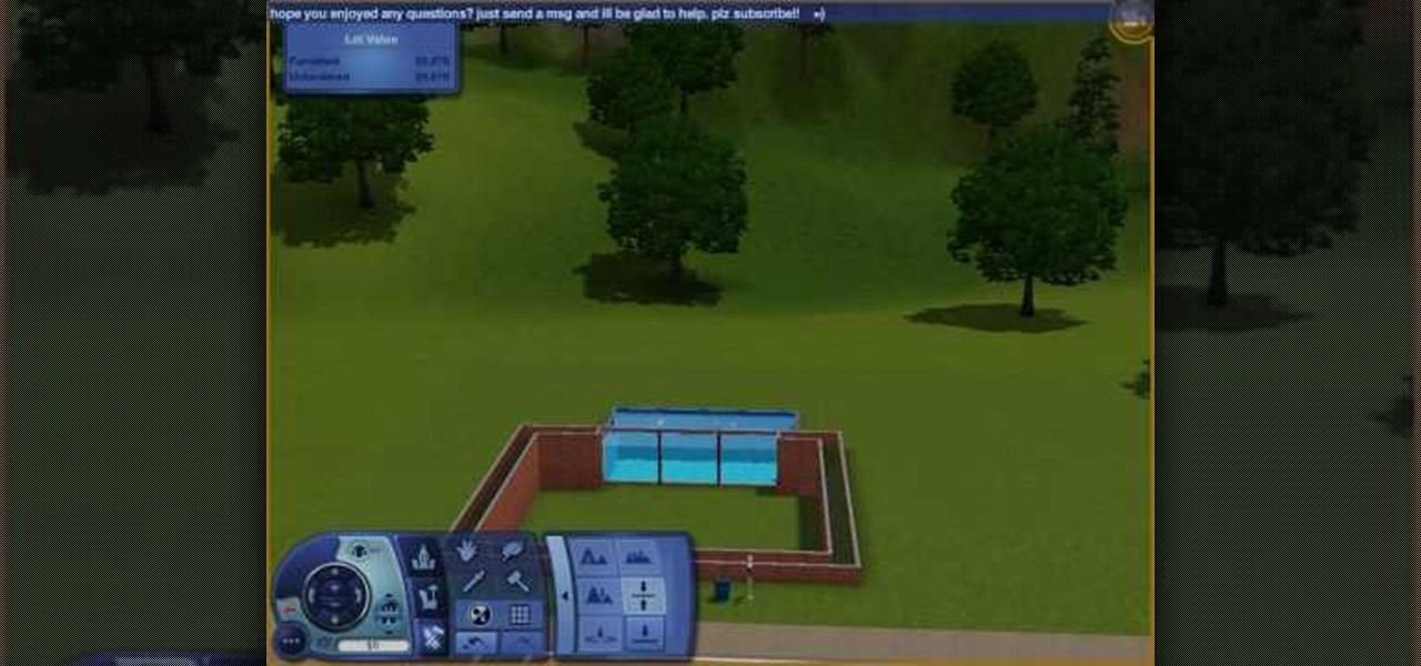 How To Build A Pool Window For Your Sims 3 House Pc Games