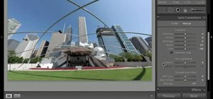 Use the automatic lens correction tool in Lightroom 3