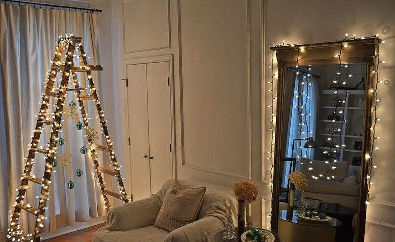 1the christmas ladder tree - Christmas Decor Without A Tree