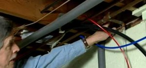 Insulate pipes in your home for the winter months
