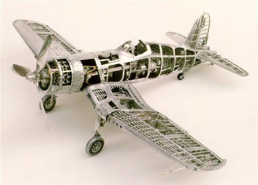 Ex-Dentist Crafts Insanely Anal Model Airplanes
