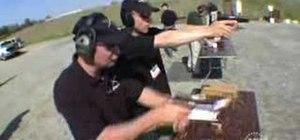 Shoot a pistol with Todd Jarrett