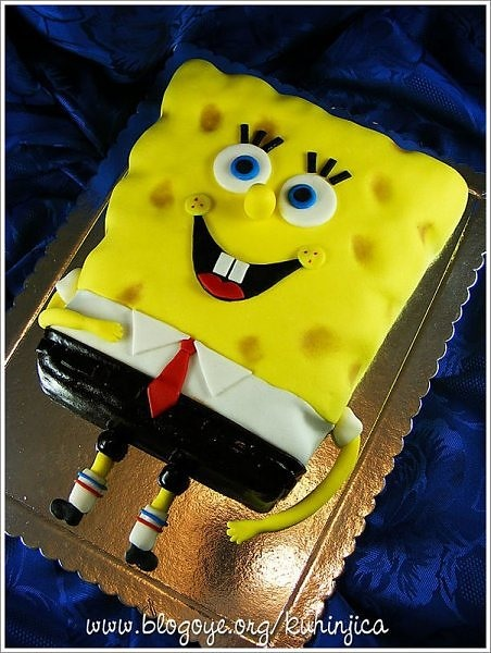 HowTo: SpongeBob SquarePants Cake Recipe