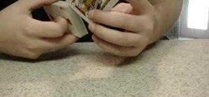 """Perform the magic """"card jump"""" card trick"""