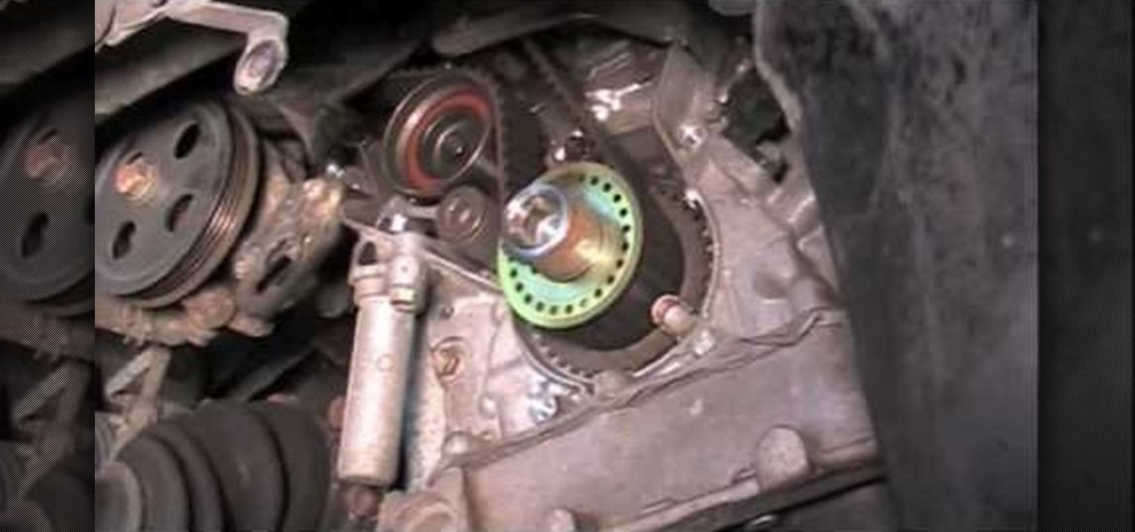 How To Change The Timing Belt On A '00 Lexus Or Toyota 30 Engine