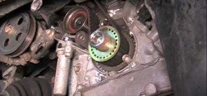 Change the timing belt on a '00 Lexus or Toyota 3.0 engine
