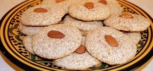 Make moist Moroccan almond macaroons