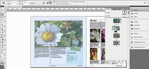 Mix page sizes with the Page tool in InDesign CS5
