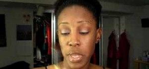 Apply eyeshadow for beginners