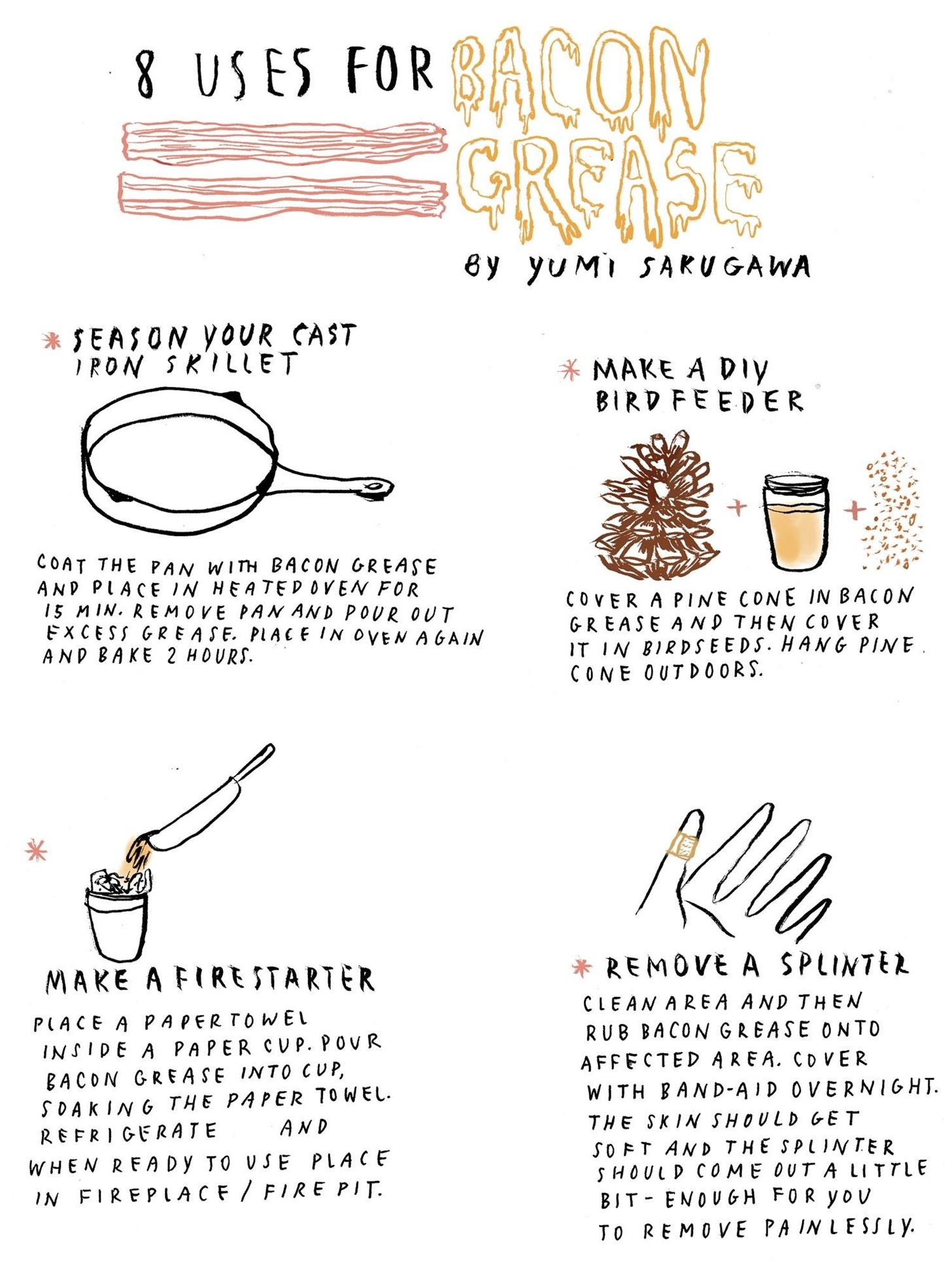 8 Practical Ways to Use Bacon Grease
