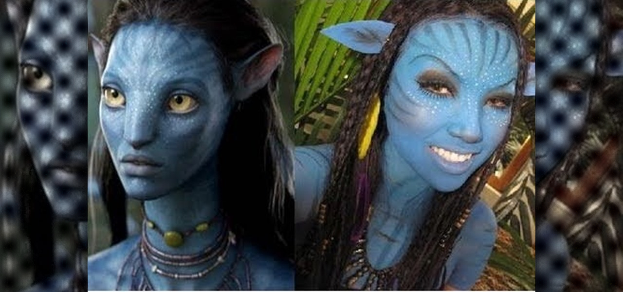 How to Turn yourself into a Nau0027vi from Avatar with makeup « Makeup  WonderHowTo  sc 1 st  Makeup - WonderHowTo & How to Turn yourself into a Nau0027vi from Avatar with makeup « Makeup ...