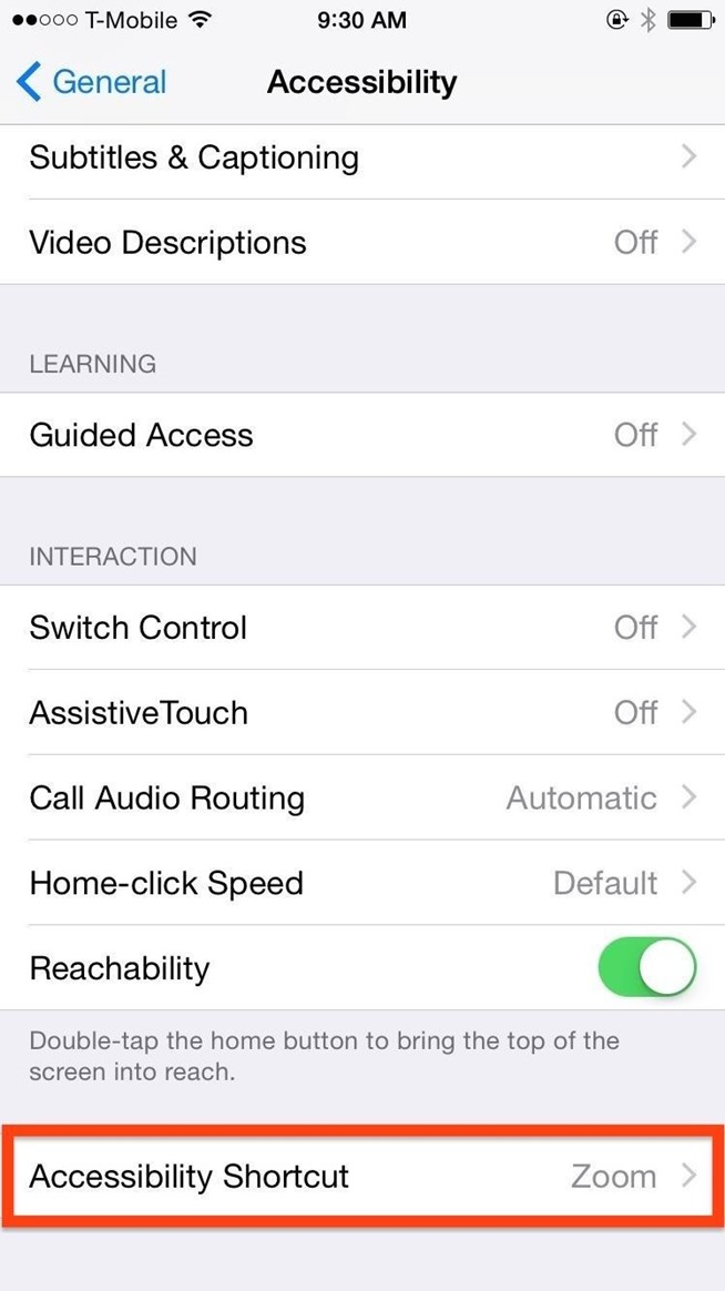 iphone shortcut button this ios 8 shortcut lets you toggle brightness using your 12309