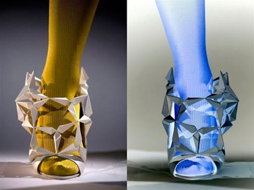 High Fashion Invisible Shoes