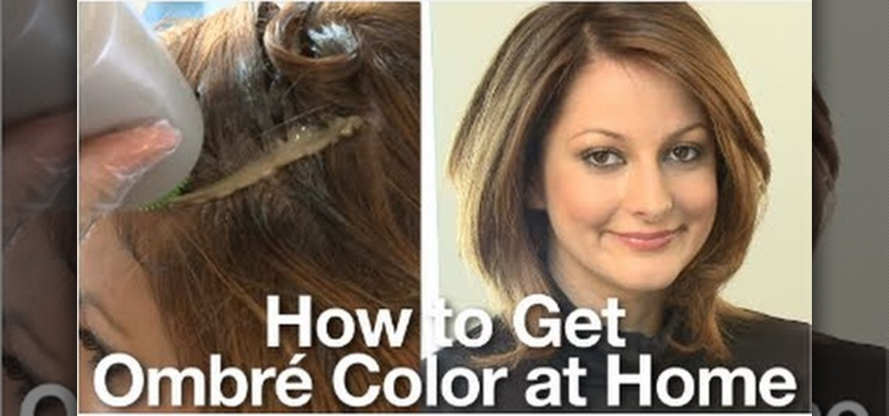 How To Dye Your Hair In An Ombre Shade At Home Hairstyling Wonderhowto