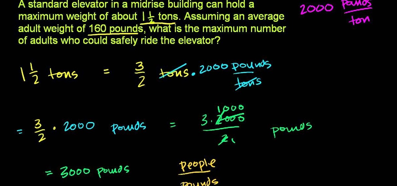 How to Solve word problems involving units of weight in basic math ...