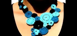 Make crocheted jewelry