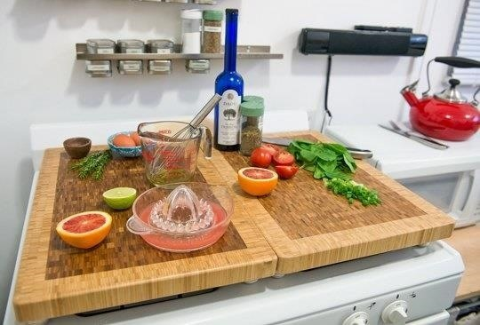 Countertop Hacking: 5 Ways to Increase Your Workspace in a Tiny Kitchen