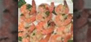 Prepare Shrimp Scampi