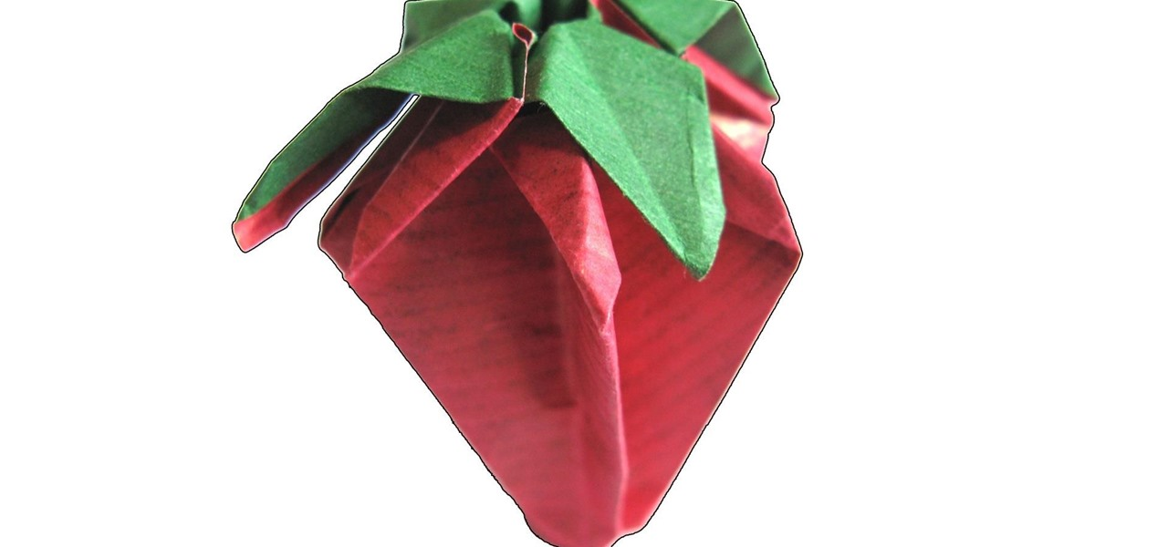 Make an Origami Strawberry
