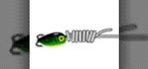 Tie the San Diego Jam knot for heavy lures or jigs
