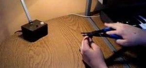 Make a BB gun out of a mechanical pencil
