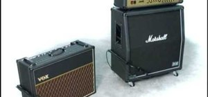 Mic your guitar amp and get a great sound in a live setting