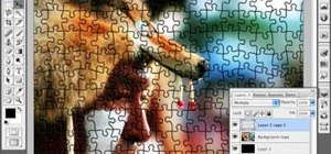Transform a photo into a puzzle in Photoshop