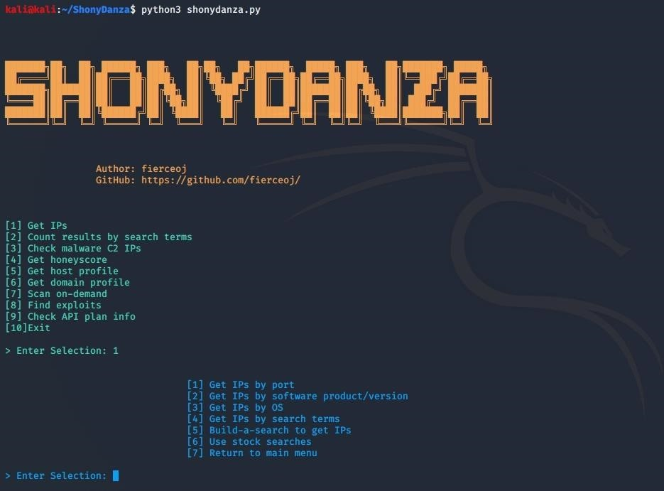 How to: Use ShonyDanza to Find a Target and an Exploit