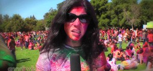 Celebrate the Hindu and Sikh spring festival of color — Holi (or Holli)