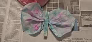 Make Coffee Filter Butterflies & Flowers