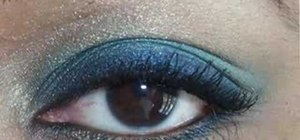 Create a Cool Heat gradient eye look with Mac products