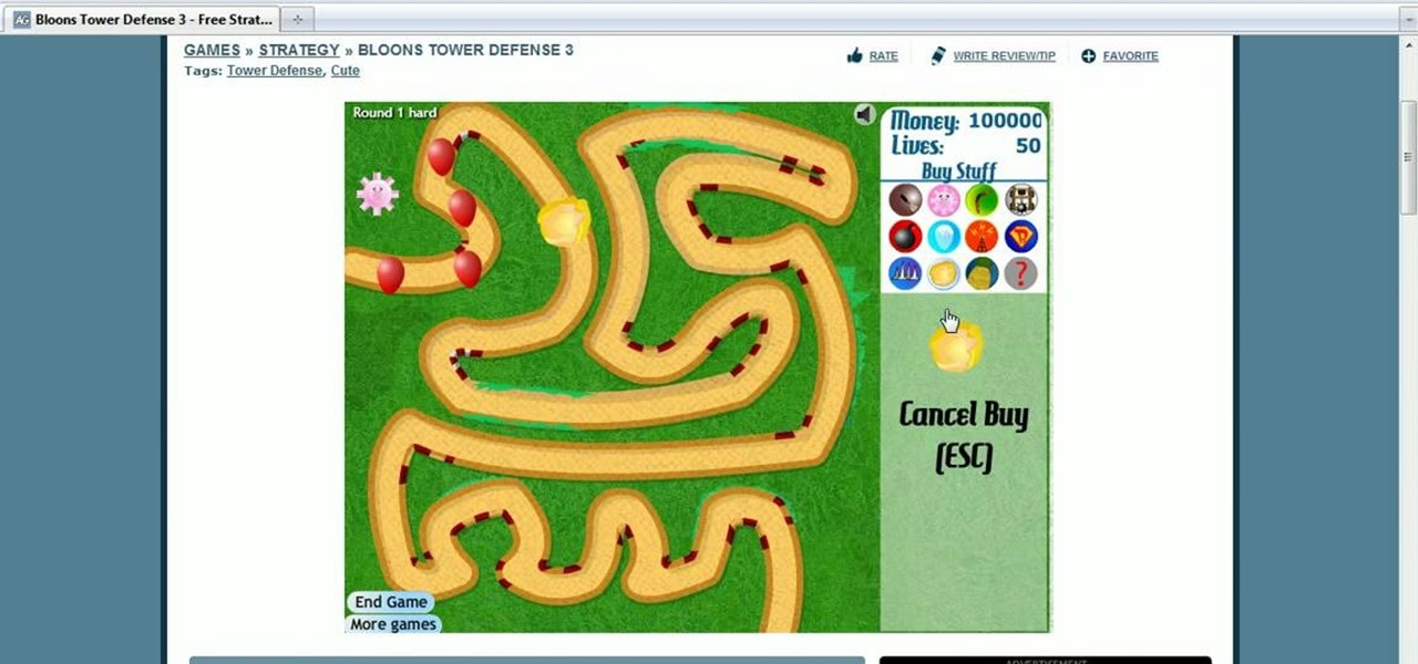 bloons td cheats
