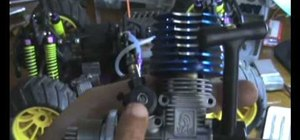 Install a new engine in an RC Nitro Truck