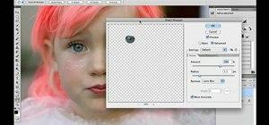 Enhance & add sparkle to eyes in Adobe Photoshop CS5