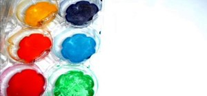 Make your own water color paints at home
