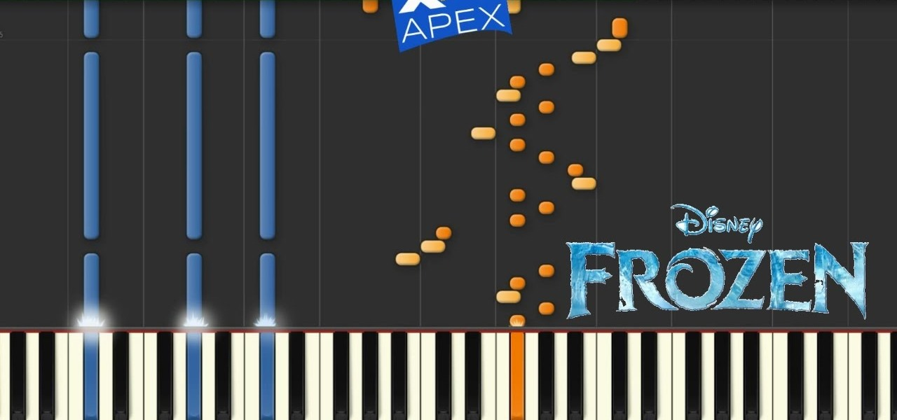 How to Play Let It Go Frozen Song on Piano « Piano