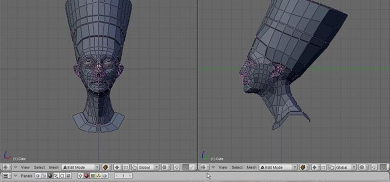 how to make cuts in blender