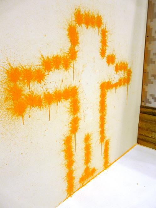 Graffiti Bot Tags With Paintball Bullets 171 Graffiti