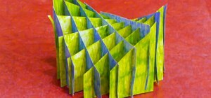 Community Submissions (Plus How to Make a Sliceform Hyperbolic Paraboloid)